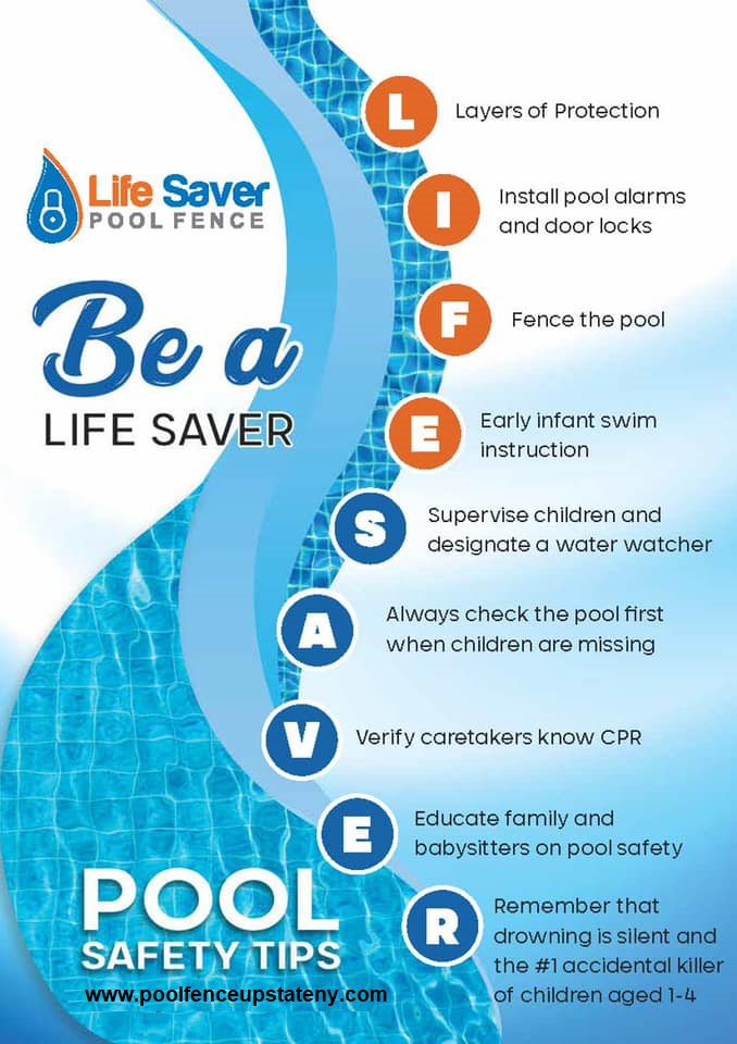 Life Saver Pool Fence Systems - Be A Life Saver. Know The Facts.