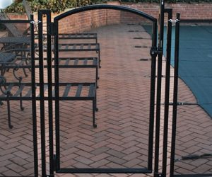 Life Saver Self Closing Self Latching Pool Fence Gate