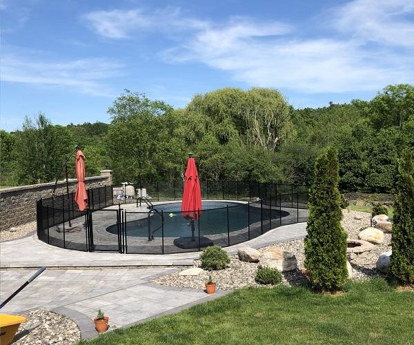 Life Saver removable mesh pool safety fence Rutland, VT