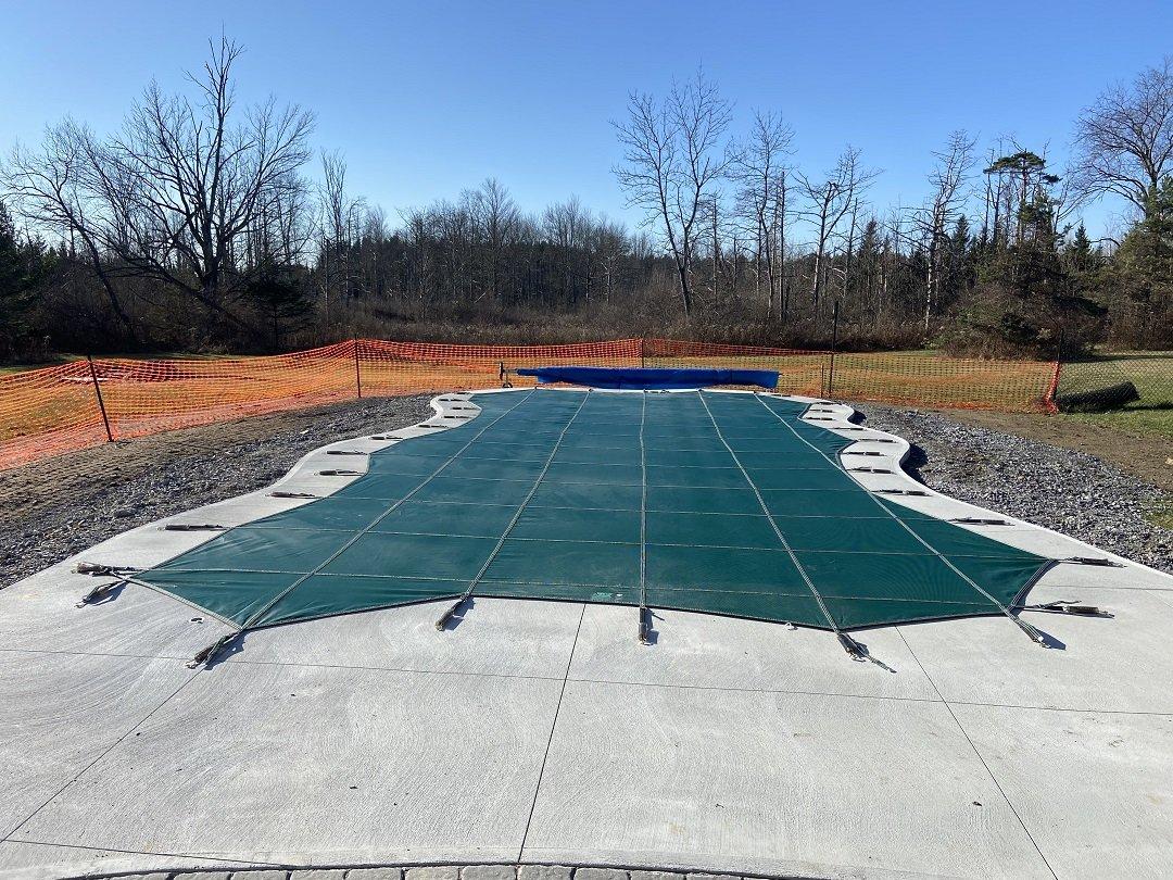 Loop Loc pool covers installed Saratoga, NY